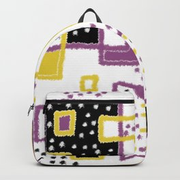 fuzzy rectangles Backpack