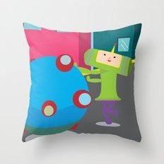 Katamari Demacy Throw Pillow