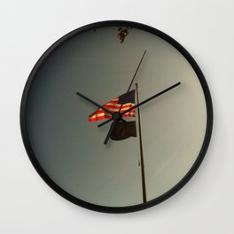 Freedom Flag Wall Clock