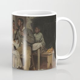 Richard Norris Brooke A Pastoral Visit 1881 Painting Coffee Mug