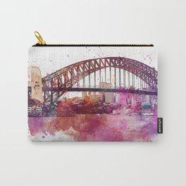 Sydney Harbor Bridge Watercolor Art Carry-All Pouch