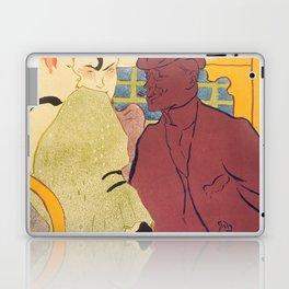 """Henri de Toulouse-Lautrec """"Flirt"""" Laptop & iPad Skin"""