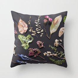 Botanical Collection Throw Pillow
