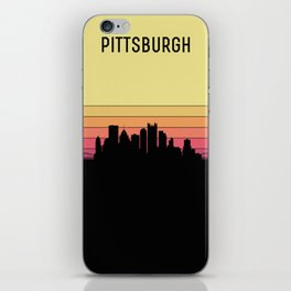 Pittsburgh Skyline iPhone Skin