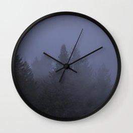 The Fog is Magical Wall Clock