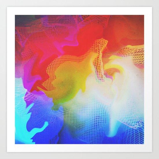 Glitch 31 Art Print