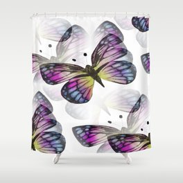 Elusive Butterfly Shower Curtain