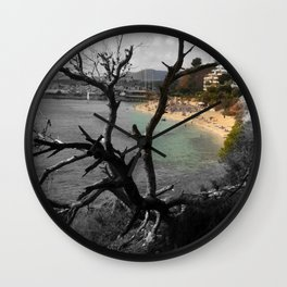 "There's The Beach"" Wall Clock"