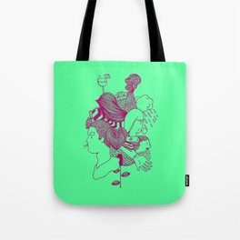 MashUp Five Tote Bag