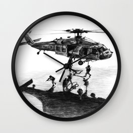 Fast Rope Wall Clock