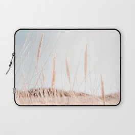 Dune Grass Photo | Nature Photography | Overexposed Dune Grass In Soft Light Laptop Sleeve