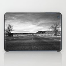 middle of the road iPad Case