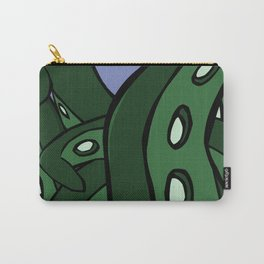 Green Tentacles Carry-All Pouch