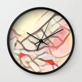 Crackle #6 Wall Clock