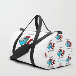Fishy Business Duffle Bag