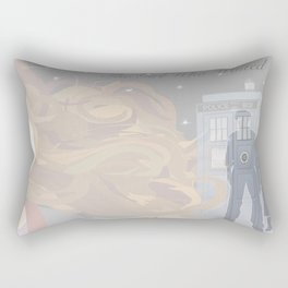 The Girl Who Waited Rectangular Pillow