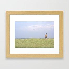 Ocean Stand Framed Art Print