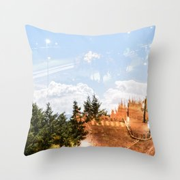 Aja/Par Throw Pillow
