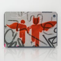 super heroes iPad Cases featuring Super Heroes by Mauricio Santana