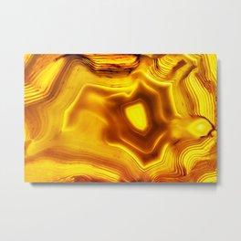 AGATE IN SUNLIGHT Metal Print