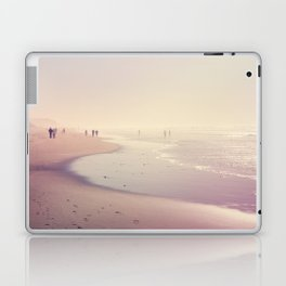 A Day at the Pink Beach Laptop & iPad Skin