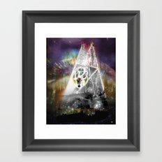 Spectral°Deer^ Framed Art Print