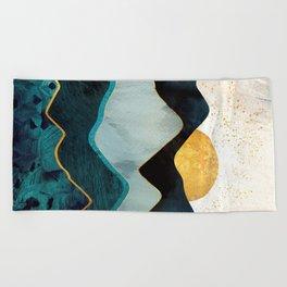 Glacial Hills Beach Towel
