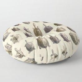 Vintage Turtles Pattern Floor Pillow