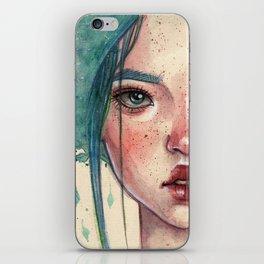 Green fairy iPhone Skin