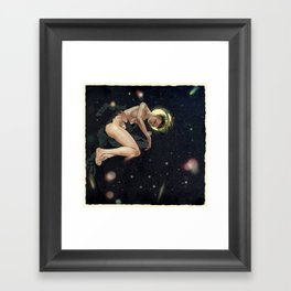 Bodies in Space: Hypoxia Framed Art Print