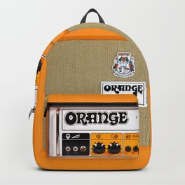 Bright Orange color amplifier amp Backpack
