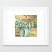 bond Framed Art Prints featuring Bond by Dani Brandimarte