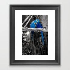 Love me... Framed Art Print