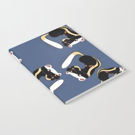 African Wildlife Poecilogale (African Weasel) Notebook