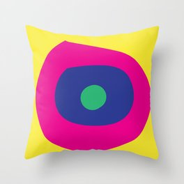 Bright Eye by SuperRay Throw Pillow