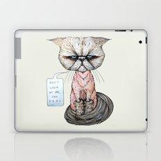 Kitty Got A Haircut Laptop & iPad Skin