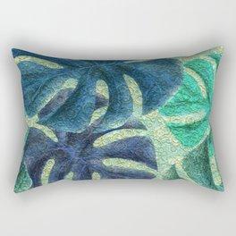 Pretty Leaves 6B Rectangular Pillow