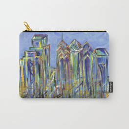 Philadelphia Skyline Painting Carry-All Pouch
