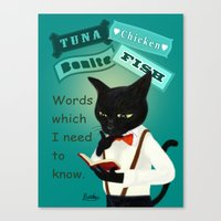 study Canvas Prints featuring Study by BATKEI