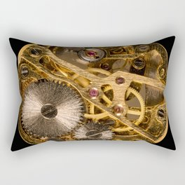 Time is passing by - antique watch Rectangular Pillow