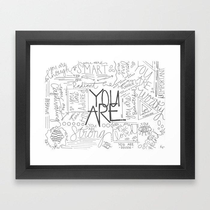 You Are Framed Art Print