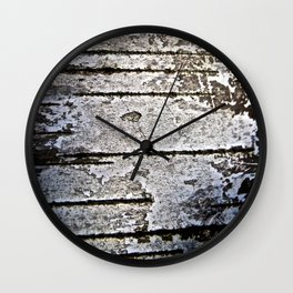 Tree Bark - The Peace Collection Wall Clock