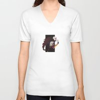 hetalia V-neck T-shirts featuring APH: Awesome Troll by Jackce