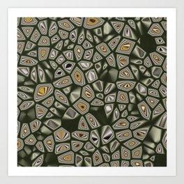 Abstract CMR 03 on VB Art Print