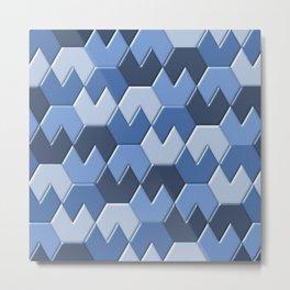 Geometrix XXVI Metal Print