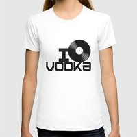 vodka T-shirts featuring LOVE VODKA by Giovanni Potenza