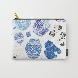 Chinoiserie Curiosity Cabinet Toss 2 Carry-All Pouch