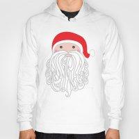 santa Hoodies featuring Santa by Doucette Designs