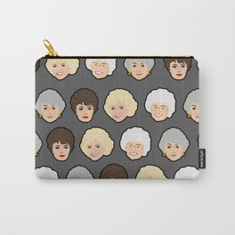 Golden Girls Grey Pop Art Carry-All Pouch