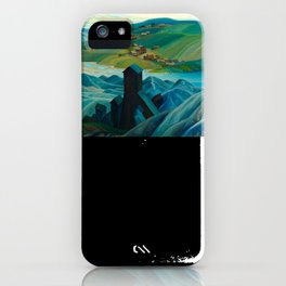 Canadian Landscape Franklin Carmichael Art Nouveau Post-Impressionism A Northern Silver Mine, 1930 iPhone Case